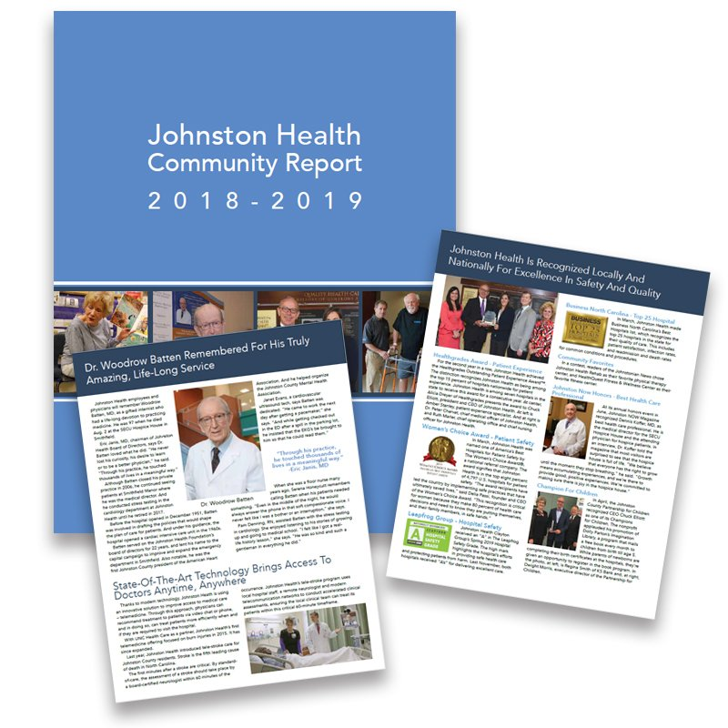 2018-2019 Johnston Health Annual Report