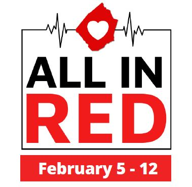 All in Red logo