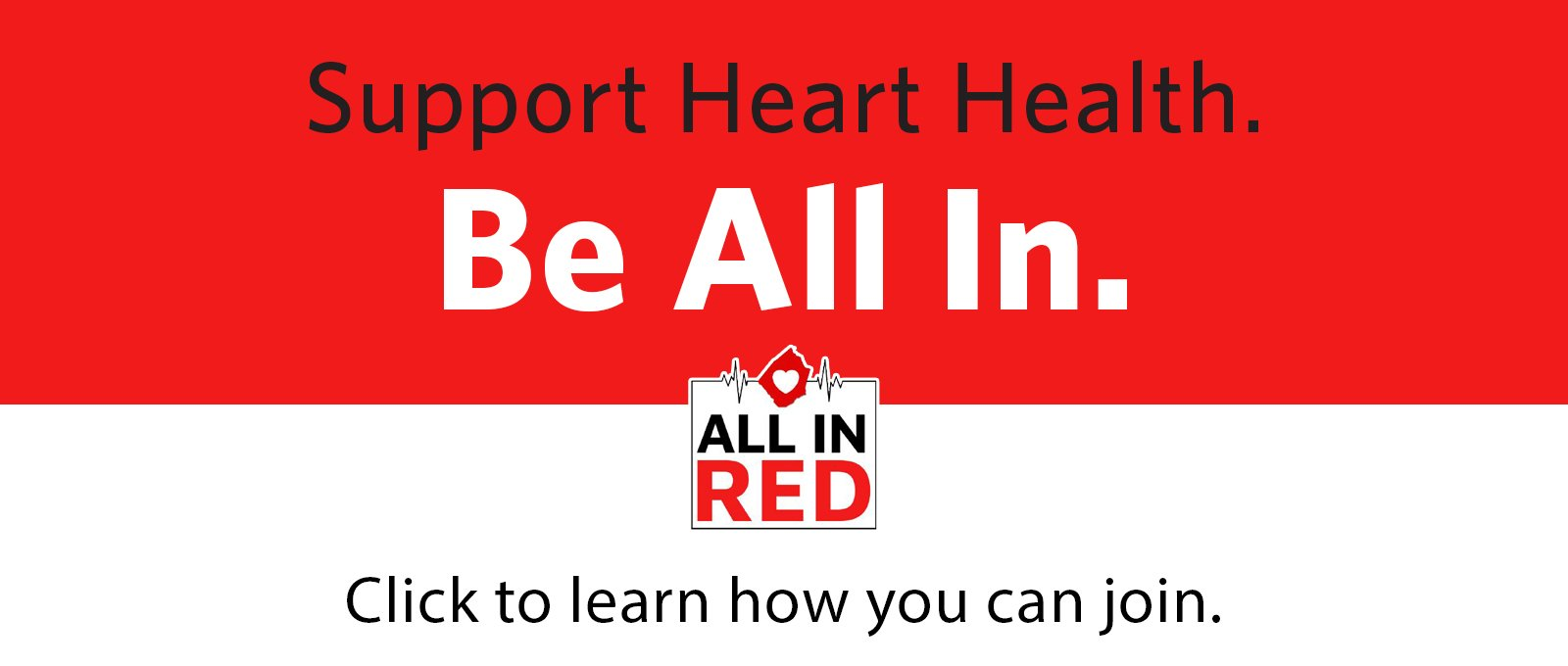 Johnston Health Foundation's All in Red Campaign
