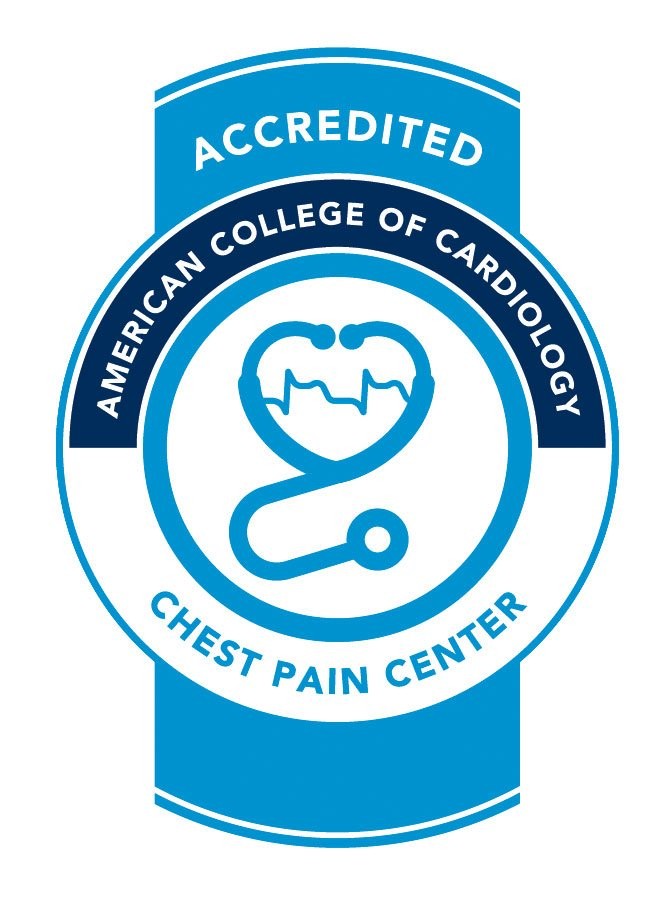ACC Chest Pain Accreditation Seal