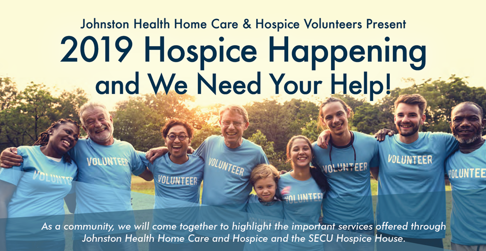 Hospice Happening Volunteers