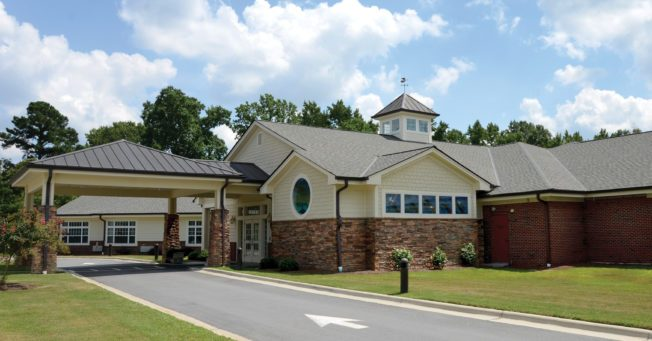 The SECU Hospice House located in Smithfield, NC.